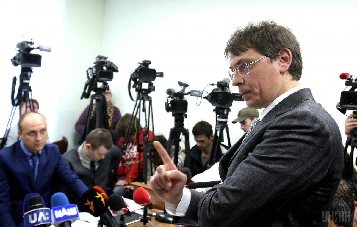 На вопрос журналистов, есть ли у него 7 млн для залога, он сказал: «Найдем» \ УНИАН