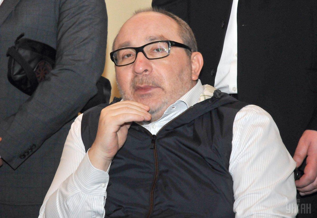 9 декабря Кернес не мог подписать документ из-за состояния здоровья / фото УНИАН, Андрей Мариенко