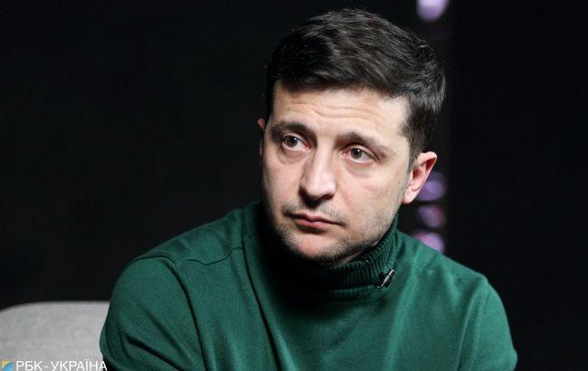 Zelensky says he chooses a diplomatic way of settling the Donbas crisis / Photo from RBC Ukraine