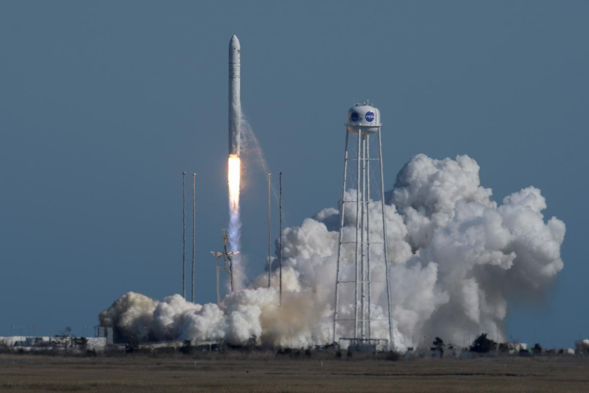 """В США успешно запустили ракету-носитель """"Антарес"""", в разработке которой приняла участие Украина / REUTERS"""