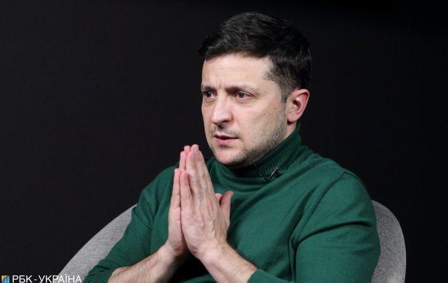 Зеленский рассказал, что будет с языковыми квотами на ТВ / фото РБК-Украина