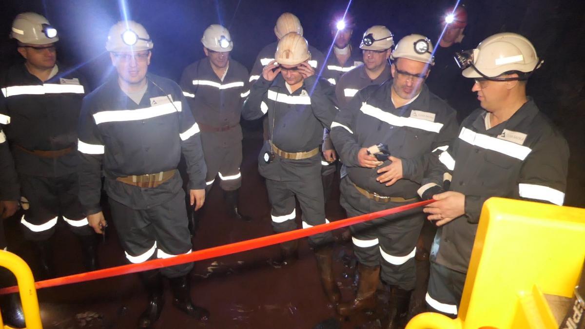 DCH Steel, що входить в групу Ярославського дала старт масштабної модернізації рудника «Суха Балка»