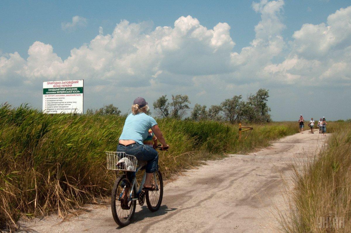После аннексии Крыма поток туристов в курортный Бердянск увеличился \ УНИАН