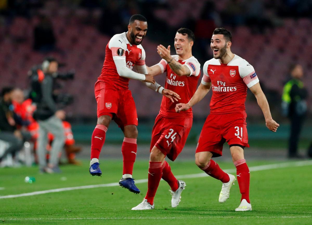 """""""Арсенал"""" пройшов""""Наполі"""" і вийшов упівфінал Ліги Європи/ REUTERS"""