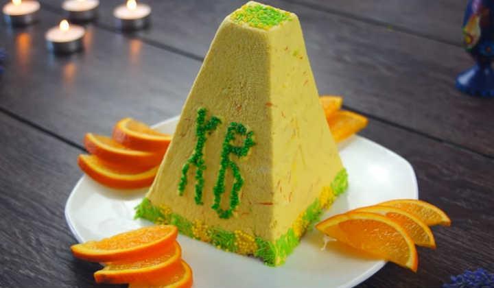 Сирна паска з апельсиновою цедрою