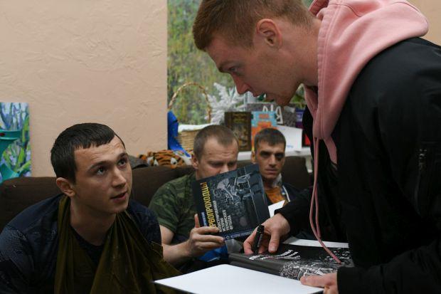 Віктор Циганков подякував військовим/ фото: ФК Динамо Київ