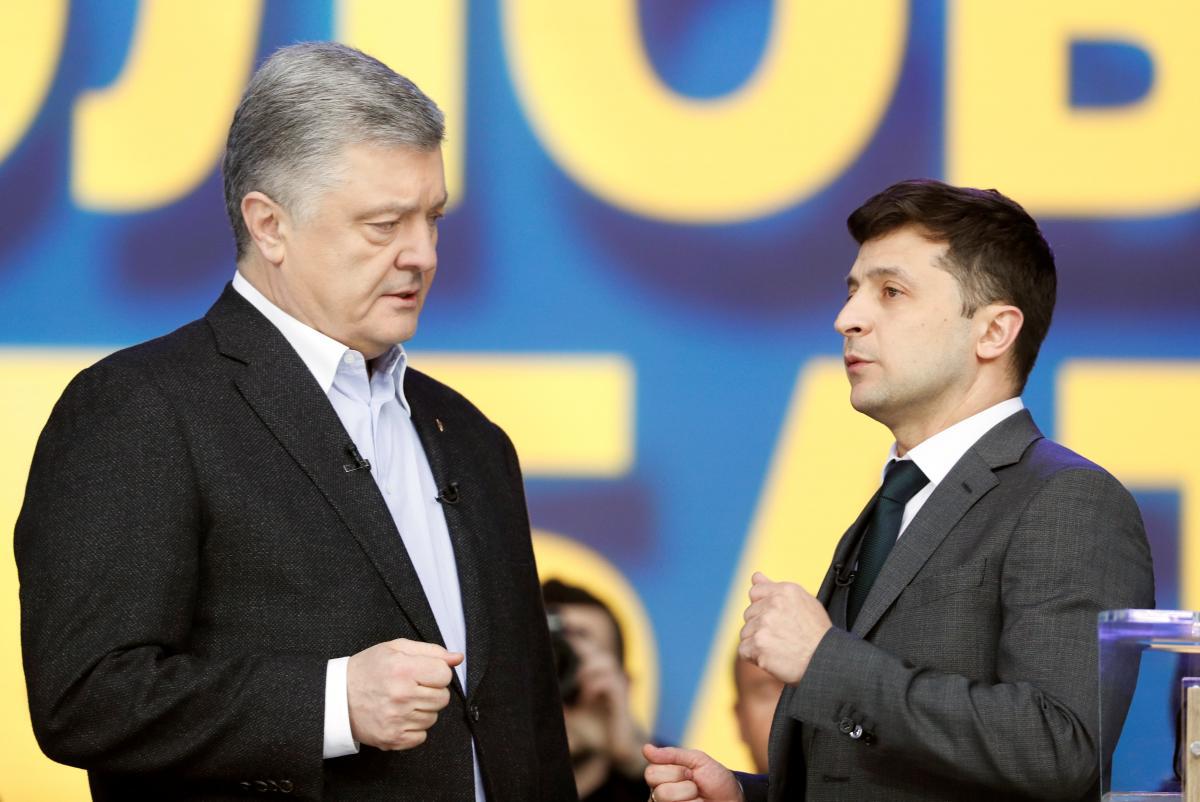 Зеленский обрушился с критикой на Порошенко / Фото REUTERS