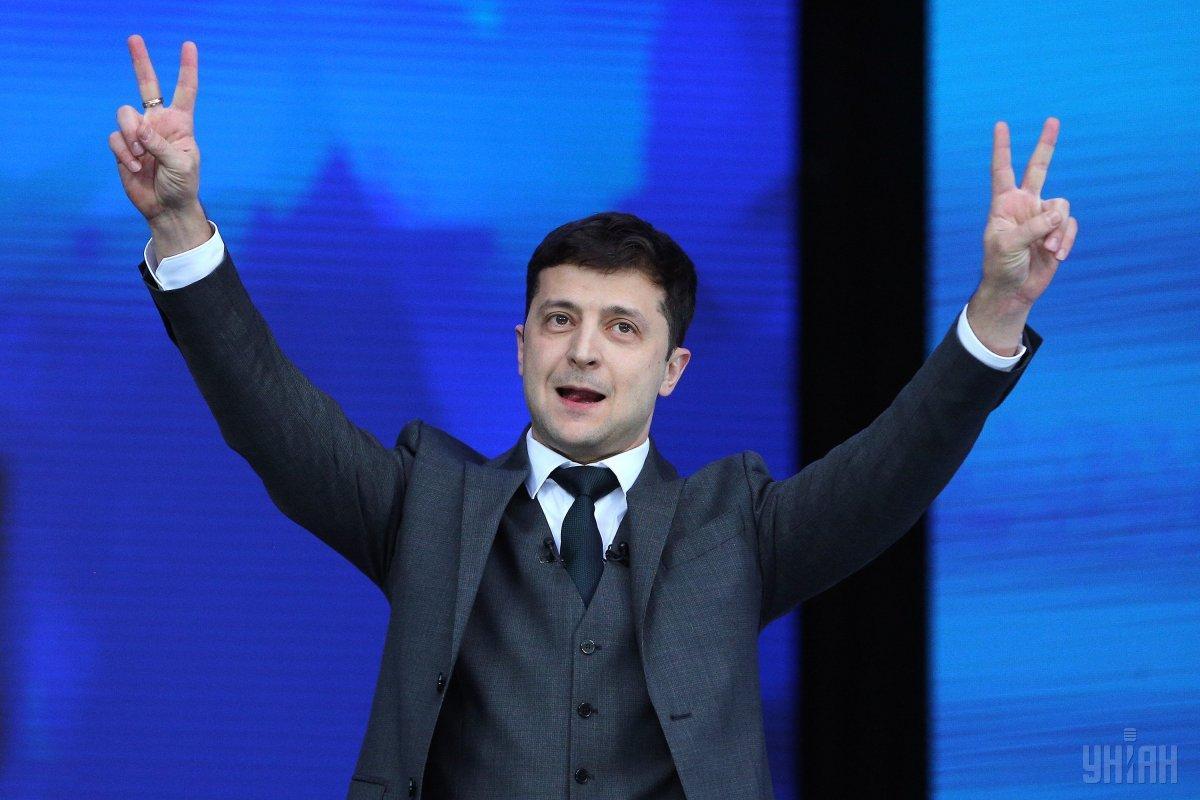 Зеленський відповів на запитання щодо перших кадрових рішень на новій посаді / фото УНІАН