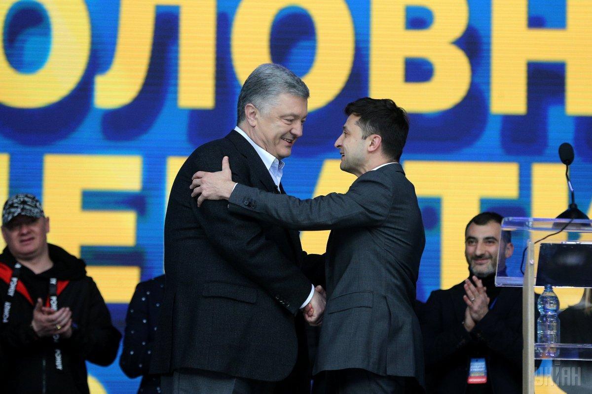 Зеленский готов обратиться к Порошенко, когда ему понадобится помощь / фото УНИАН