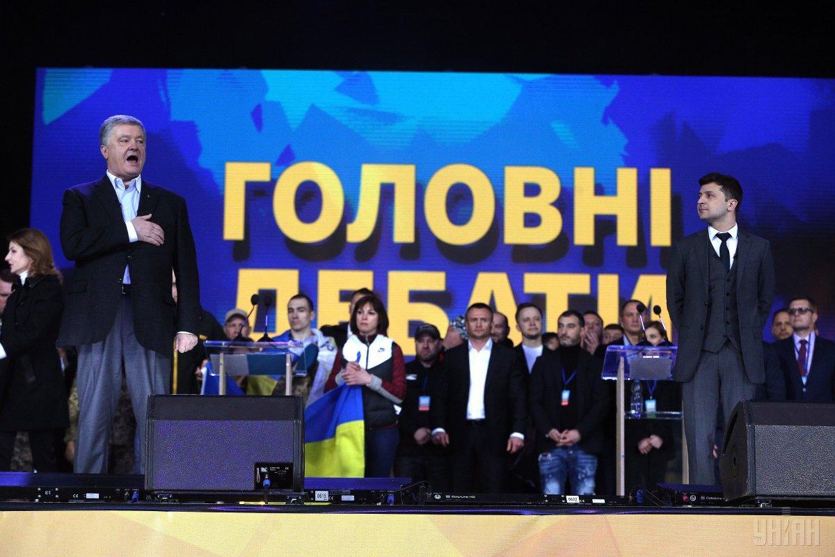 Дебати відбулися без інцидентів / фото УНІАН