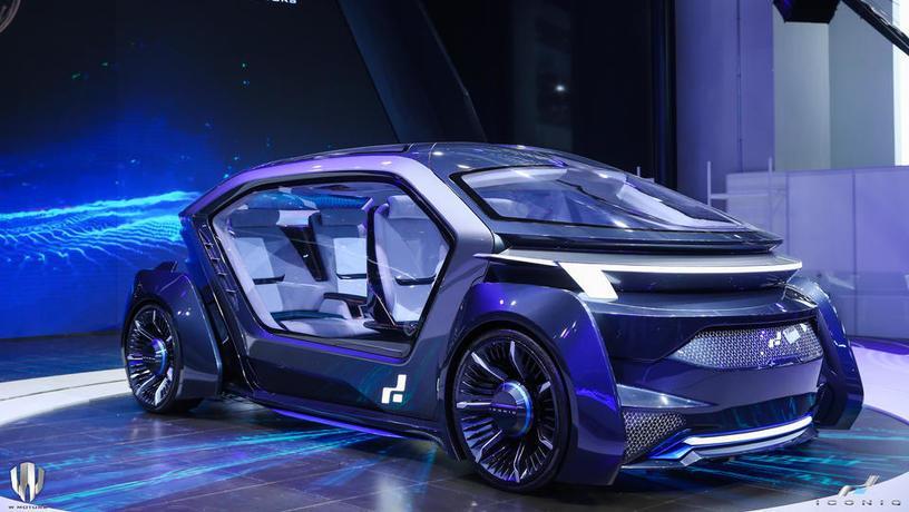 Испытания Muse будут проходить на дорогах Дубая в специально отведенных зонах\ Iconiq Motors