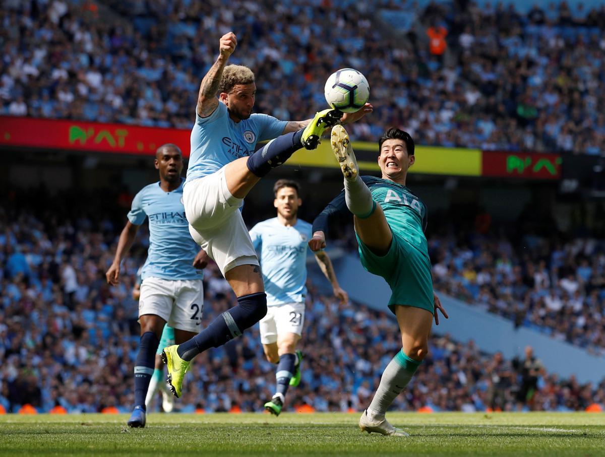 Манчестер Сити - Тоттенхэм / REUTERS