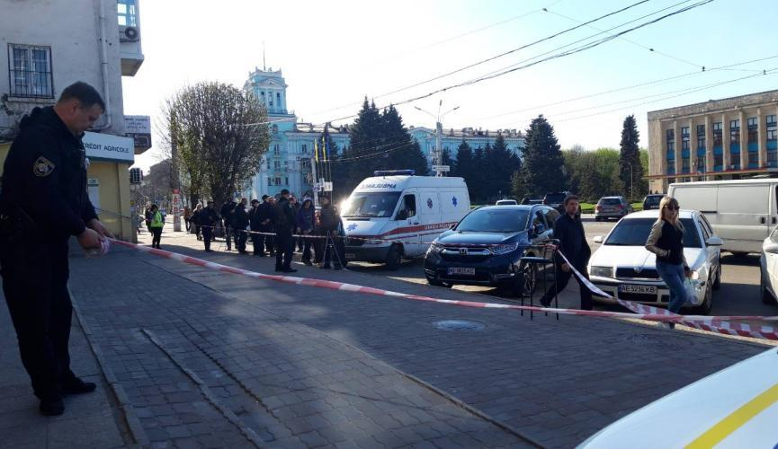 Поліція встановлює обставини замаху / фото sobitie.com.ua