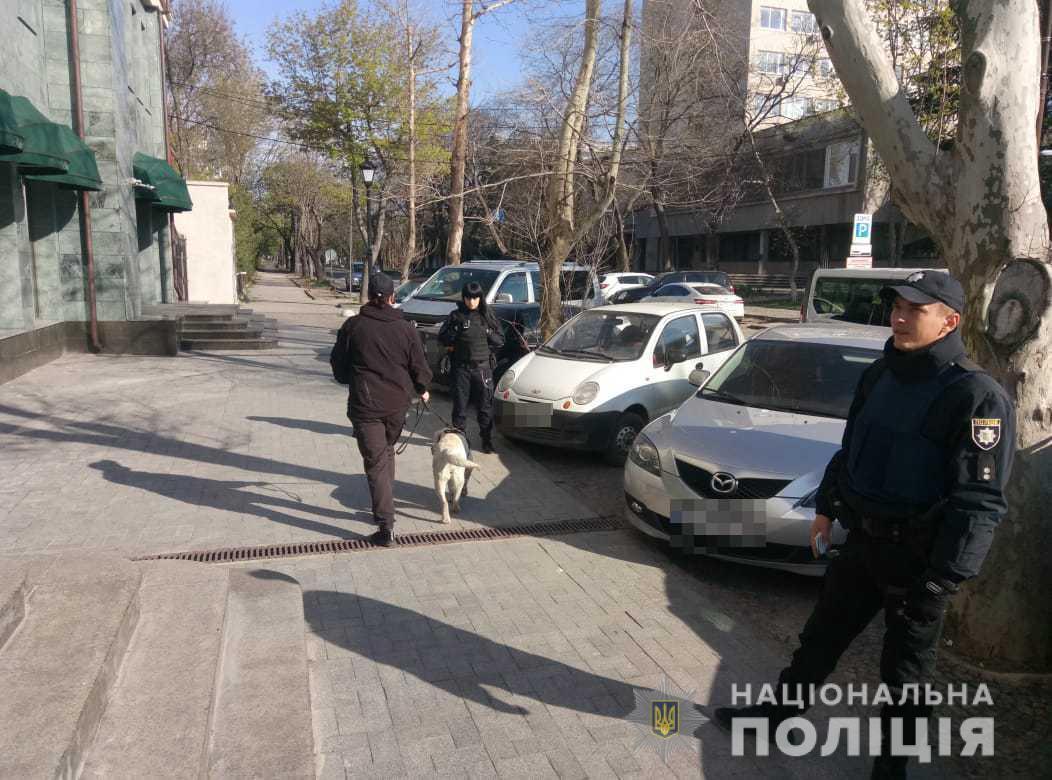 """В Одесі """"замінували"""" телеканал / od.npu.gov.ua"""