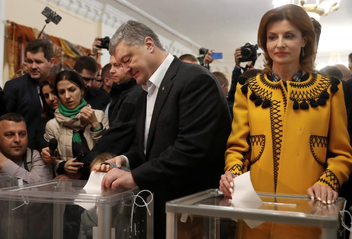 Петро та Марина Порошенки / фото REUTERS