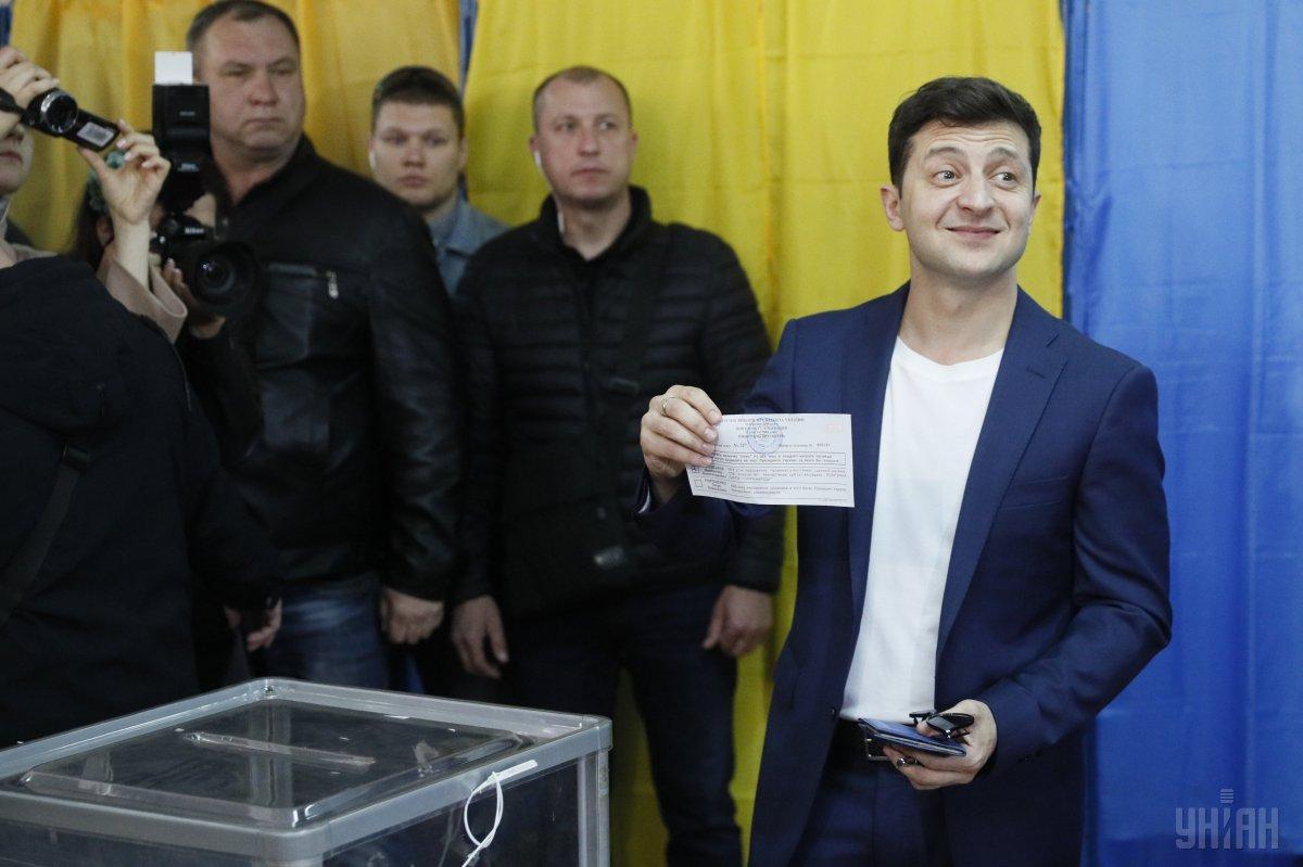 Зеленський не втримався / Фото УНІАН
