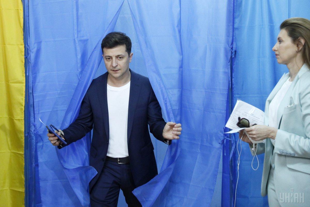 Зеленский записал очередное видеообращение / фото УНИАН