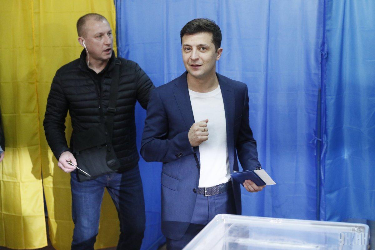 На востоке Украины за Зеленского проголосовали 87,7% / фото УНИАН
