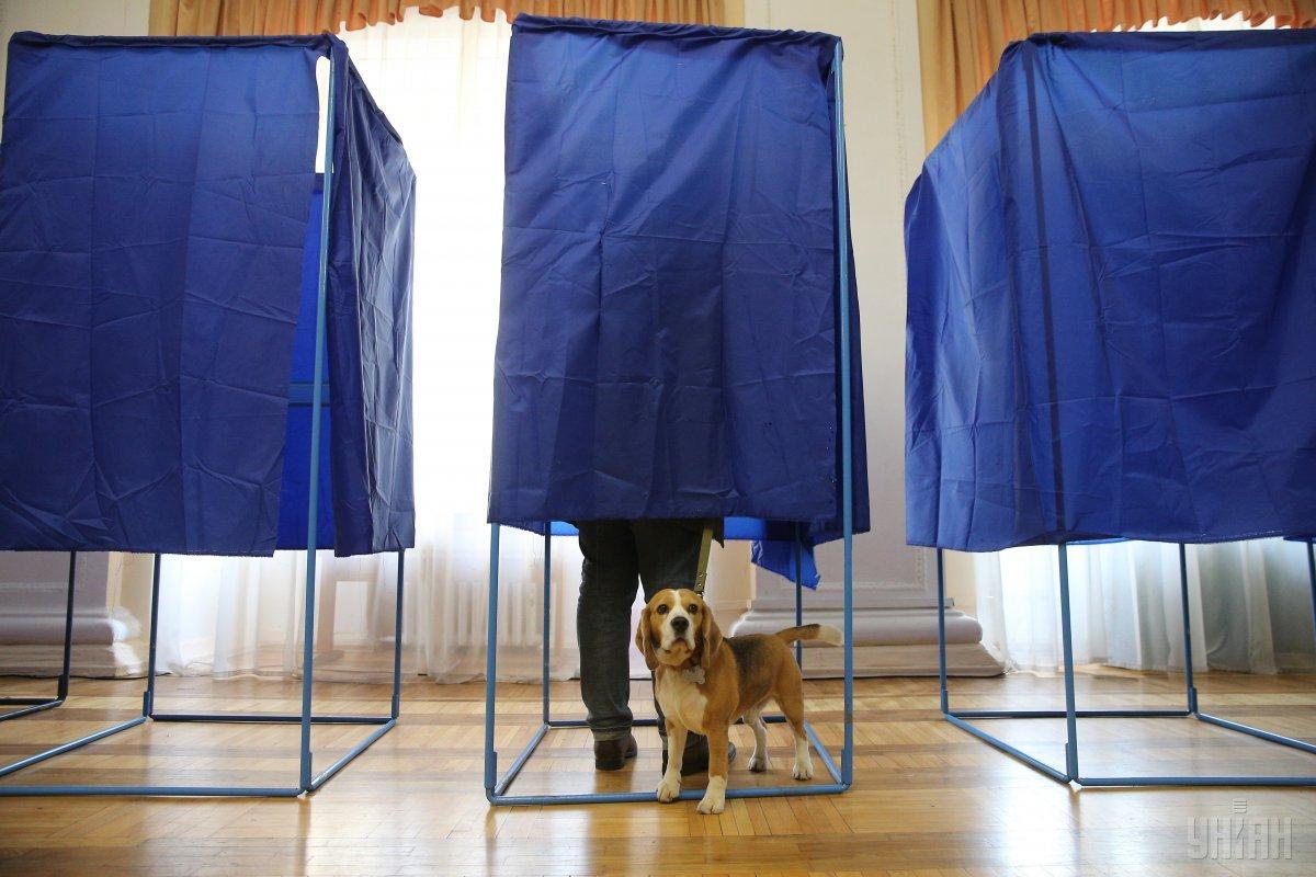 Україні брали на вибори навіть домашніх улюбленців / Фото УНІАН