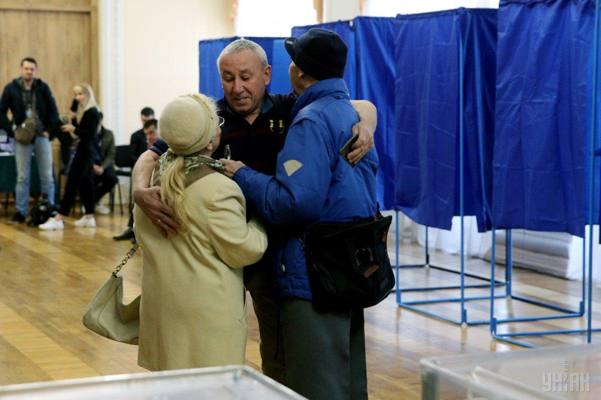 В цілому атмосфера на виборах дружня / Фото УНІАН