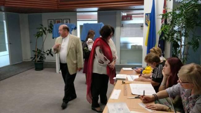 В Австралії закінчилося голосування на виборах президента України / фото Посольство Австралії в Україні