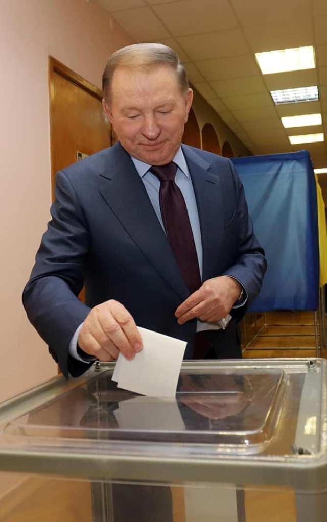 Леонид Кучма дал совет будущему президенту / фото facebook.com/darka.olifer