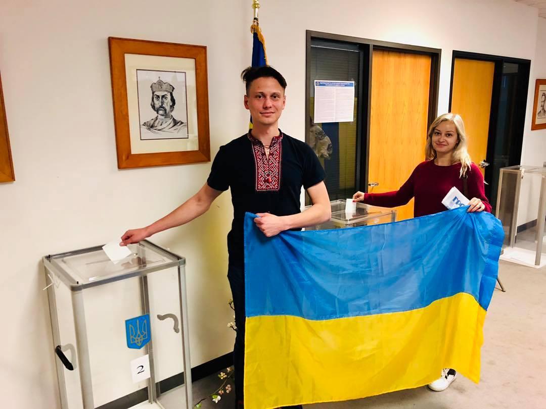 Заграничный избирательный участок в г. Сан-Франциско начала свою работу / фото facebook.com/dvk900091