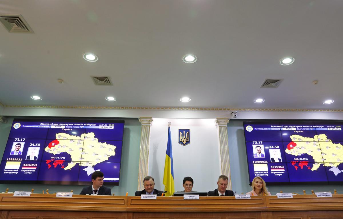 Центральна виборча комісія / REUTERS
