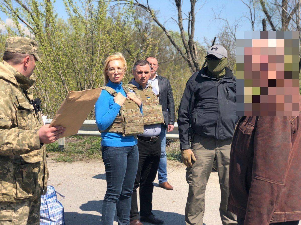Украине вернули еще 60 осужденных граждан / Facebook - Людмила Денисова