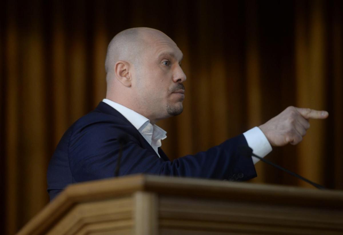 Новый президент должен разрушить монополии, считает Кива / фото пресс-службы СПУ