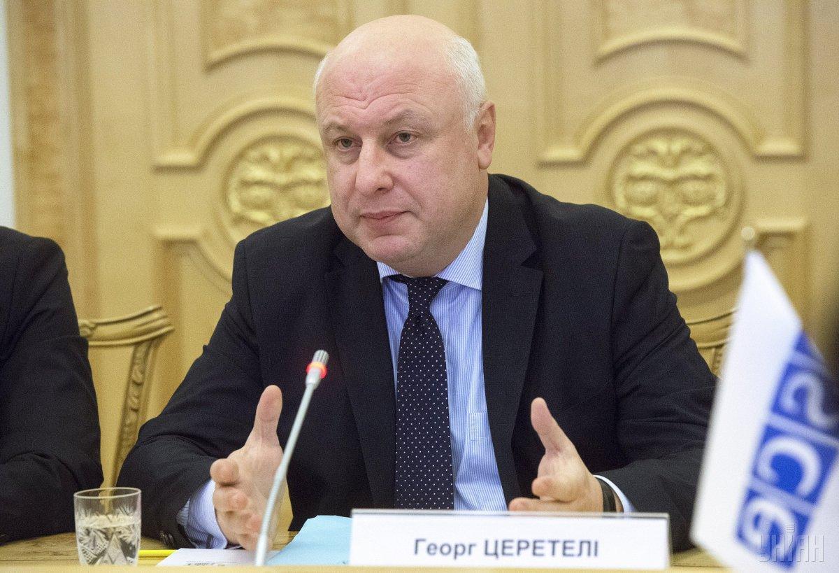 Президент Парламентской ассамблеи ОБСЕ Георгий Церетели / фото УНИАН