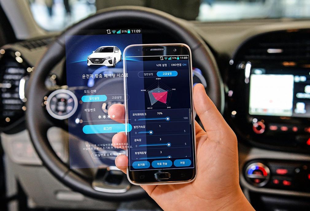 Програма зможе самостійно запропонувати оптимальні налаштування / фото Hyundai