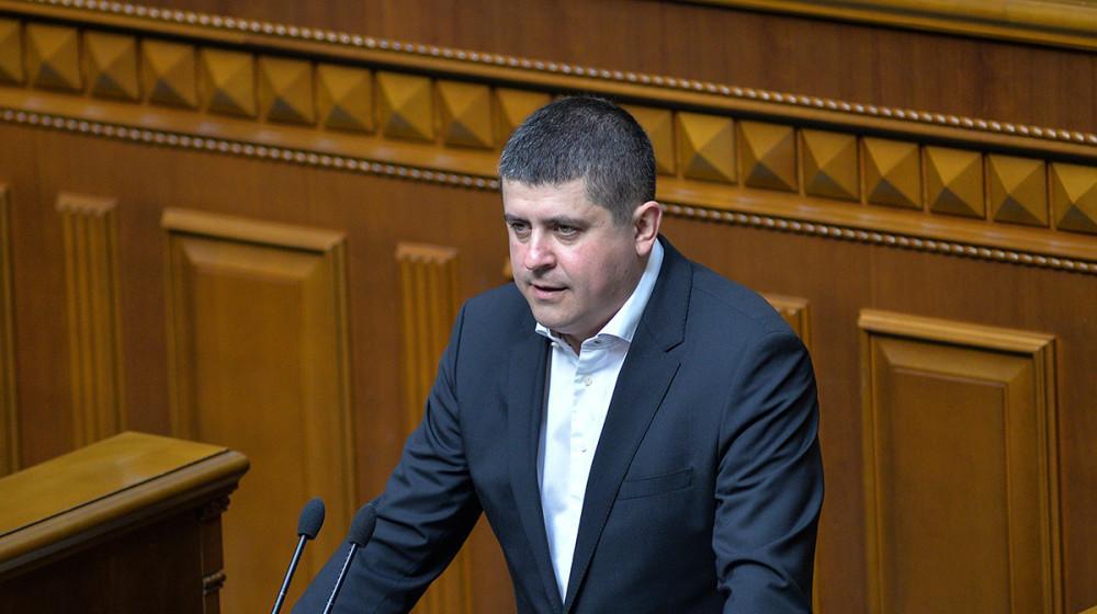 Бурбак наголосив, що проект розроблено на прохання українців, які працюють за кордоном/ фото: nfront.org.ua
