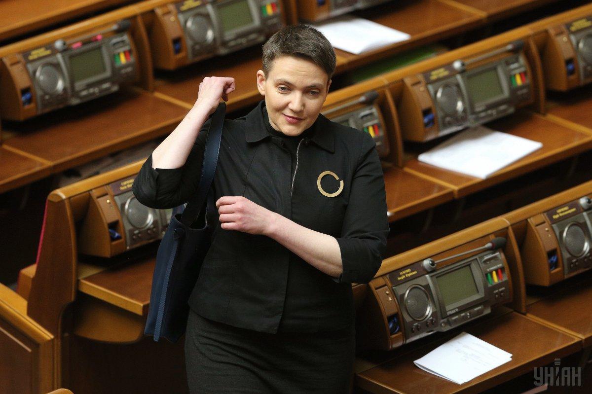 Савченко потерпела сокрушительное поражение на выборах в Раду / фото УНИАН