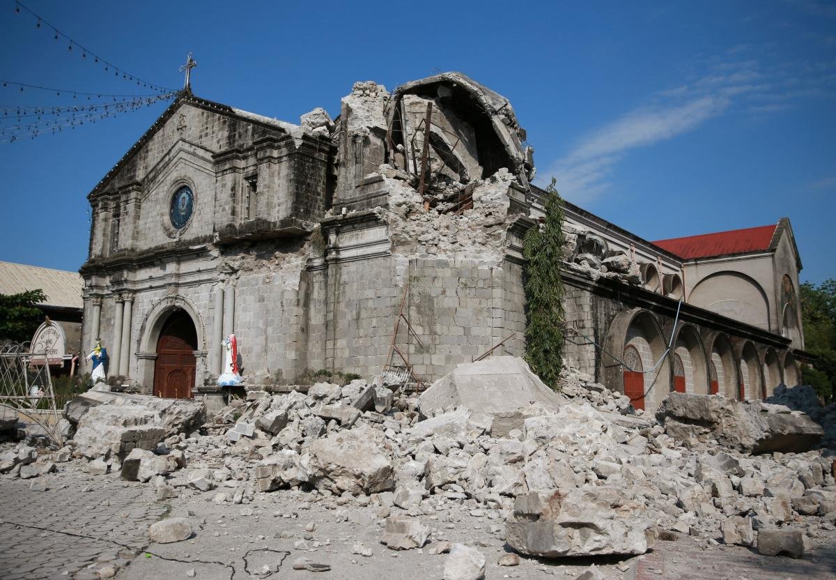 Последствия землетрясения на Филиппинах / REUTERS