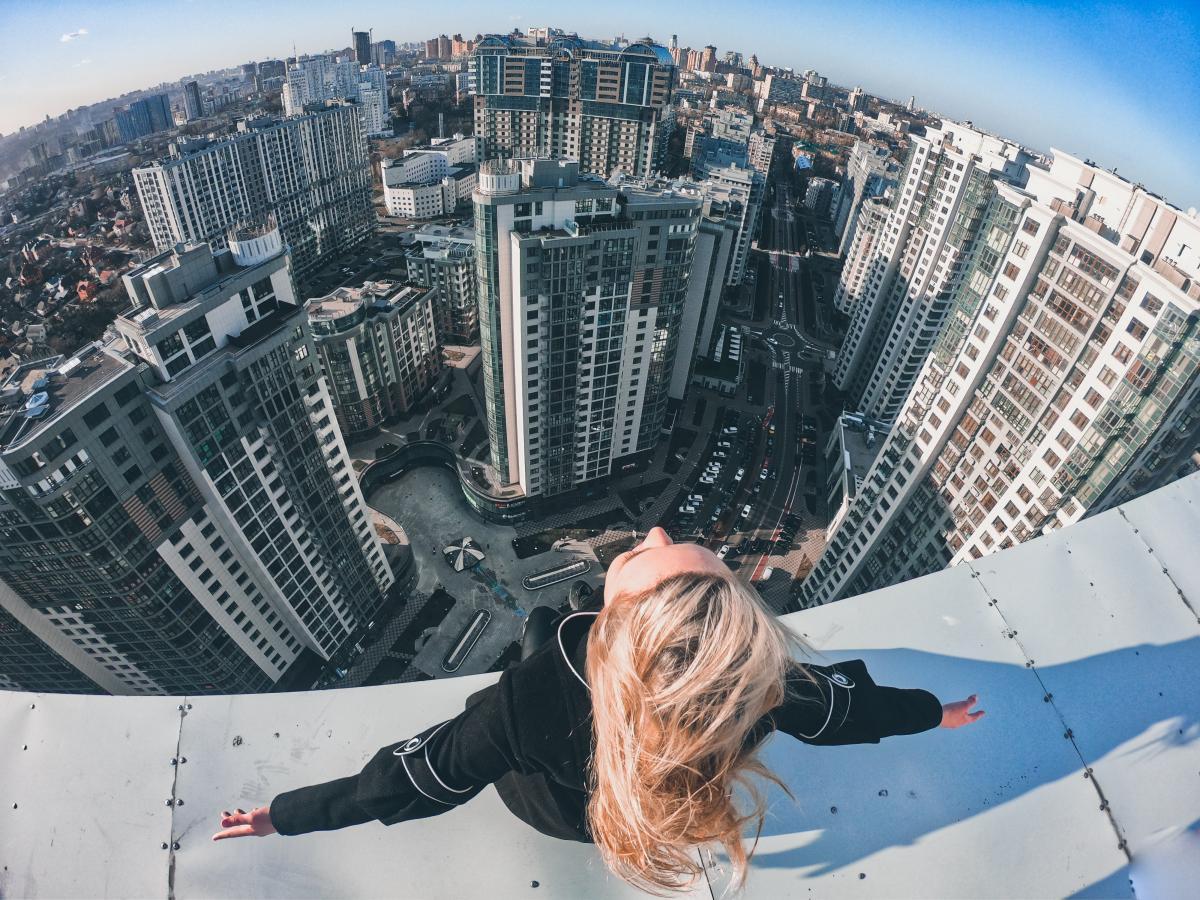 С высоты Киев выглядит совершенно по-другому / Фото Crowley