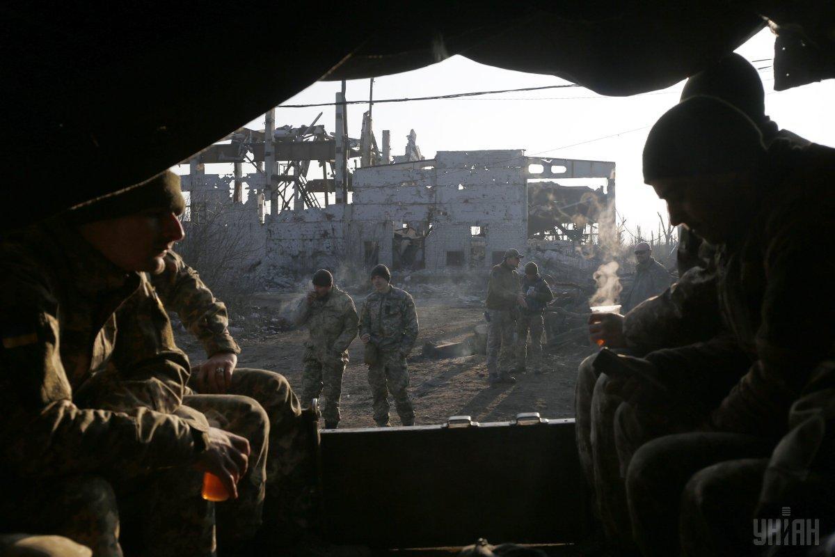З початку цієї доби російські окупаційні війська вогневої активності не проявляли / фото УНІАН