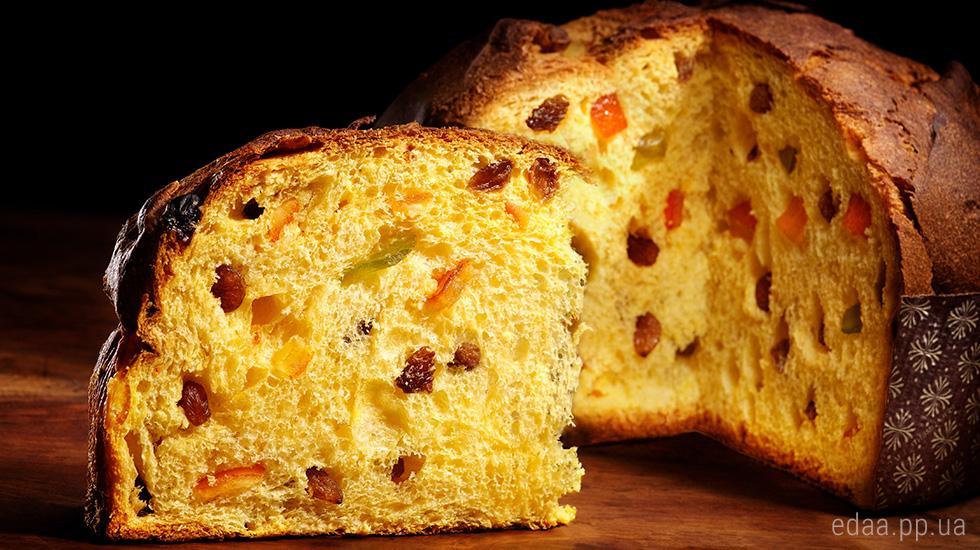 Панеттоне – вкуснейший итальянский кулич / фото edaa.pp.ua