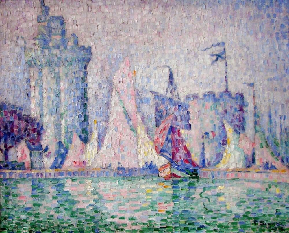 """Світовий шедевр - картина """"Порт Ла-Рошель"""" була викрадена 24 травня 2018 року з музею міста Нансі"""
