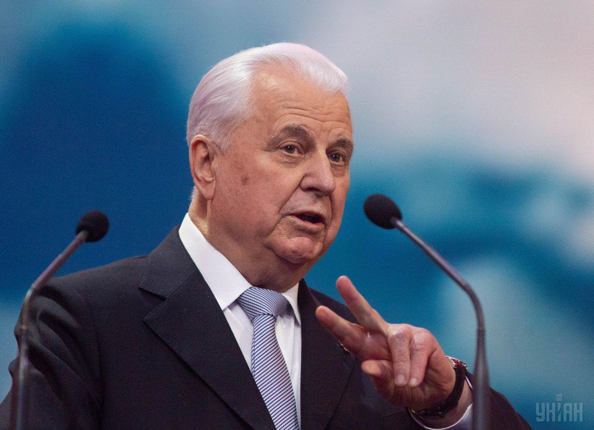 Kravchuk comments on possible appointment as Ukraine's envoy at Minsk talks / Photo from UNIAN