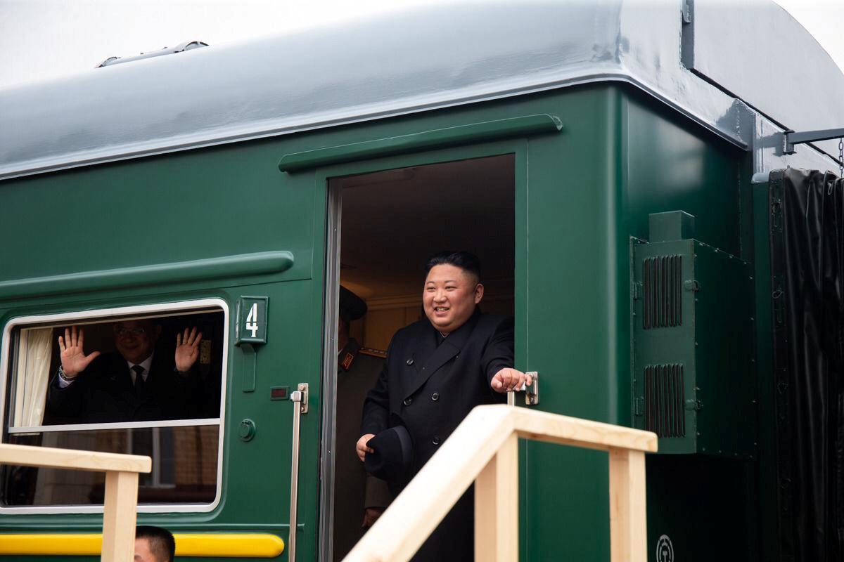 Ким Чен Ын приехал в Россию / REUTERS