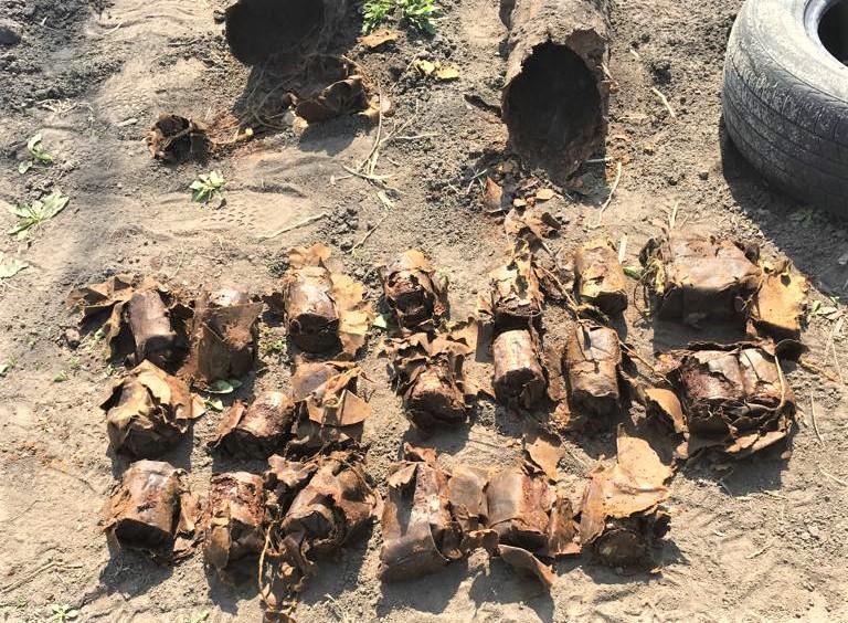Обнаруженные предметы направлены на экспертизу / Фото: СБУ