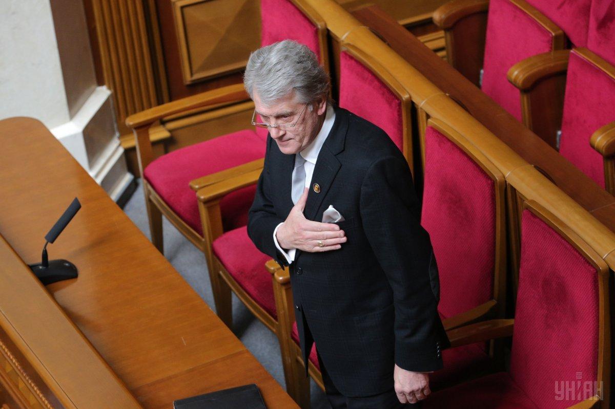 В соцсетях появилась информация о подозрении Ющенко / фото УНИАН