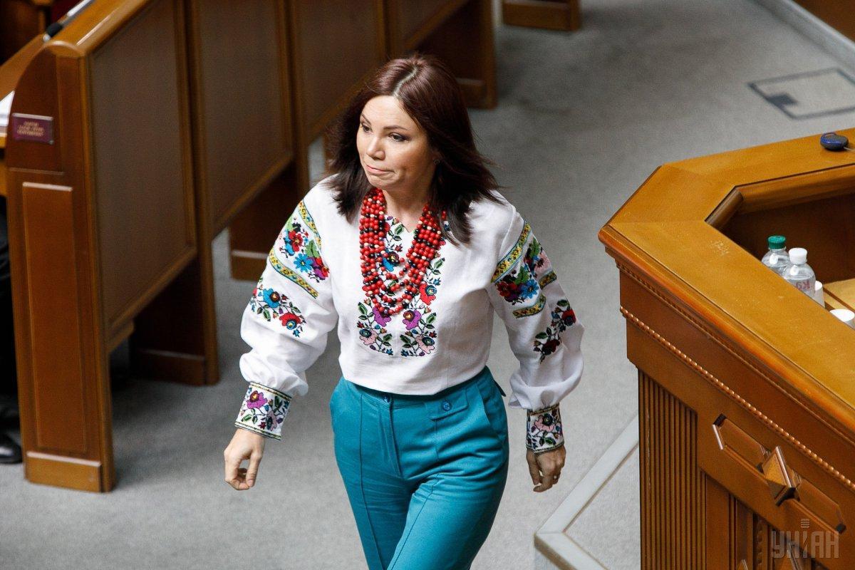 Часть депутатов пришли на заседание в вышиванках / Фото УНИАН