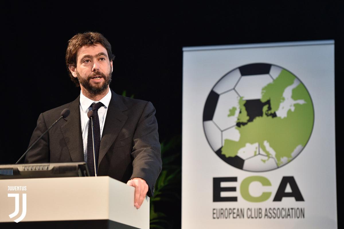 Президент Ассоциации европейских клубов (ЕСА) и президент «Ювентуса» Андреа Аньелли / Фото juventus.com