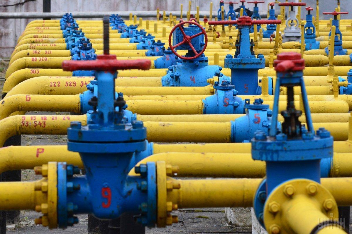 """""""Газпром"""" заказал дополнительные мощности для транспортировки природного газа украинской ГТС / фото УНИАН"""