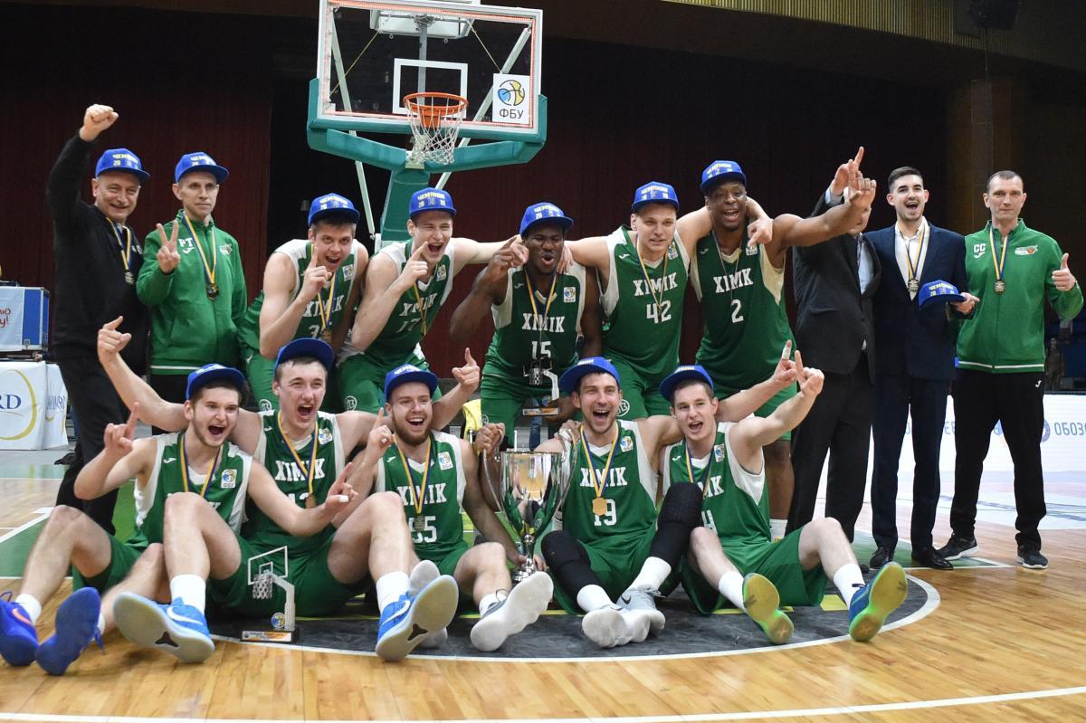 """""""Хімік"""" виграв золоті медалі баскетбольної Суперліги / fbu.ua"""