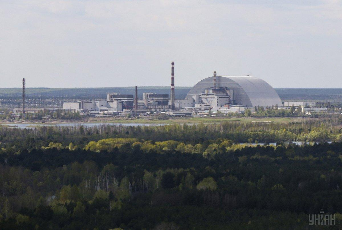 The plant is located in the Chornobyl Exclusion Zone / Photo from UNIAN