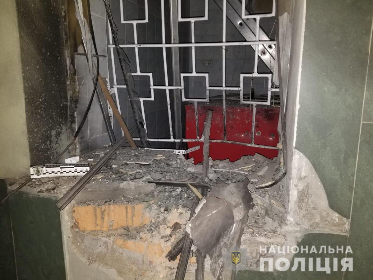 В Одессе возле здания банка произошел взрыв / фото od.npu.gov.ua