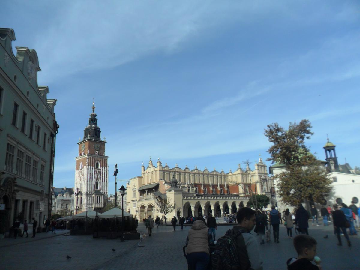 Вид на Ратушную башню / фото: Ольга Броскова